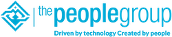 The People Group logo in zwarte uitvoering